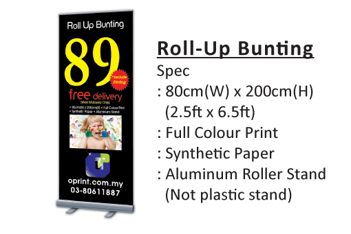 Canvas Banner Poster Backdrop Printing Services Malaysia