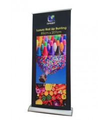 LUXURY Roll Up Bunting - 85cm (W) X 207cm (H)  ---------- FREE DELIVERY PENINSULAR MALAYSIA