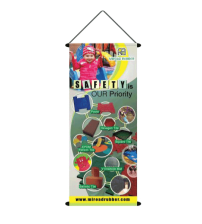 Pull up Bunting - 60cm (W) x 150cm (H) / 2ft (W) x 5ft (H)                 - SELF COLLECTION
